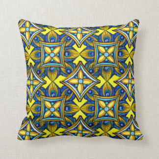 Cheerful Pottery Pattern Cushion