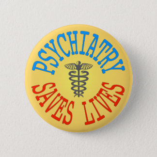 Cheerful Pro-Psychiatry Button