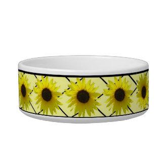 Cheerful Sunflower Bowl