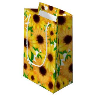 Cheerful Yellow Sunflowers Gift Bag