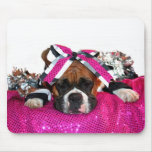Cheerleader Boxer mousepad