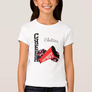 Cheerleader Customizable Red T-shirt
