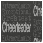 Cheerleader Extraordinaire Fabric