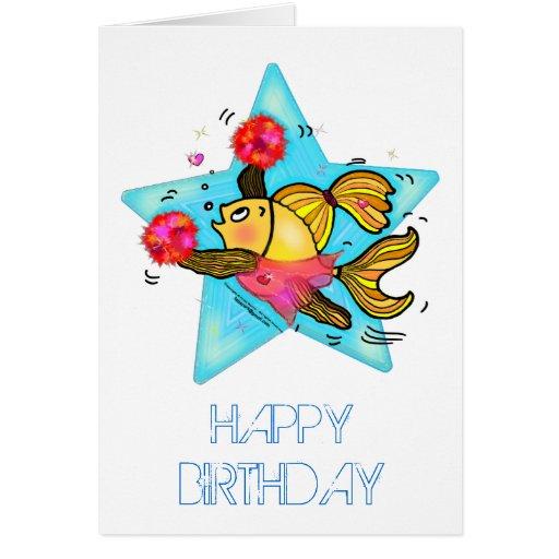Funny fishing birthday cards funny fishing birthday card for Fishing birthday cards