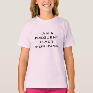 cheerleader flyer t-shirt