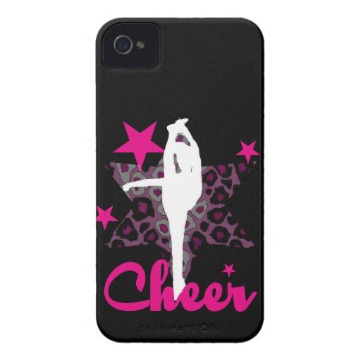 Cheerleader in pink iPhone 4 Case-Mate case