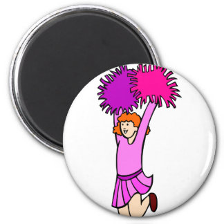 Cheerleader Magnet