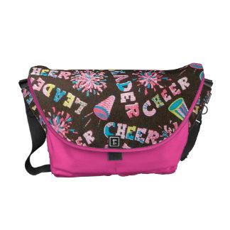 """Cheerleader"" Messenger Bag Outside Print"