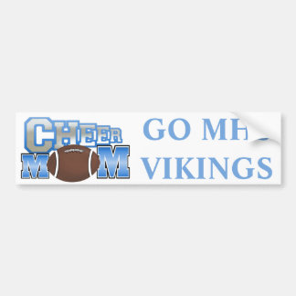 Cheerleader Mom Bumper Sticker