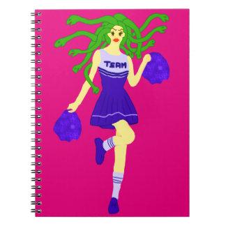 cheerleader monster notebook