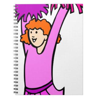 Cheerleader Notebooks