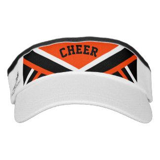 Cheerleader Outfit in Orange Visor