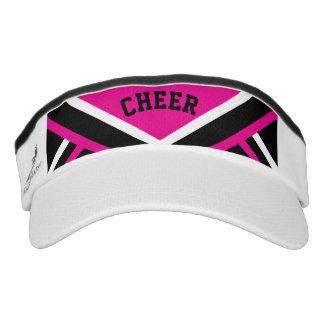 Cheerleader Outfit in Pink Visor
