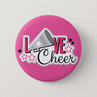 "Cheerleader Pin ""Love Cheer"""