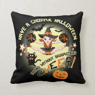 Cheerleader's Halloween Cushion