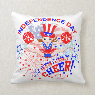 Cheerleader's, Independence Day, 4th July, Cheer Cushion