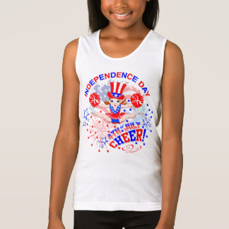 Cheerleader's, Independence Day, 4th July, Cheer Singlet