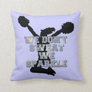 Cheerleaders we sparkle cushion