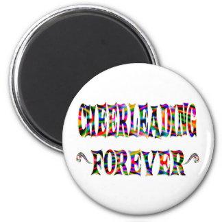 Cheerleading Forever Magnet