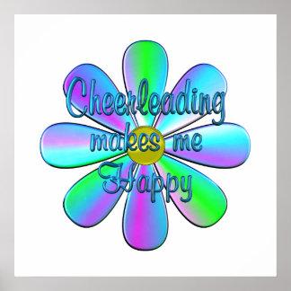 Cheerleading Happy Poster