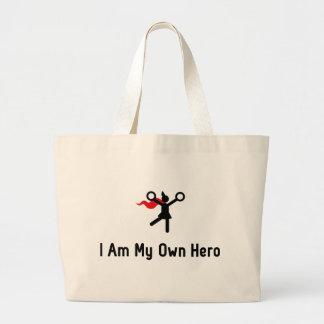 Cheerleading Hero Jumbo Tote Bag
