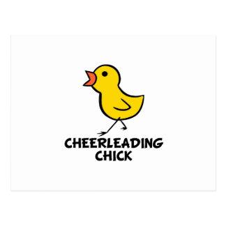 Cheerleading Postcard