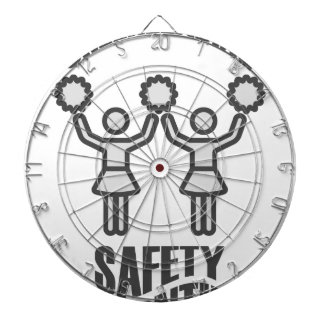 Cheerleading Safety Month - Appreciation Day Dartboard