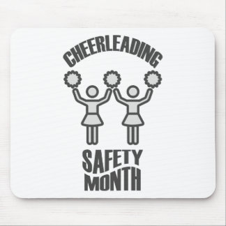 Cheerleading Safety Month - Appreciation Day Mouse Pad