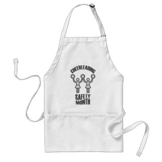Cheerleading Safety Month - Appreciation Day Standard Apron