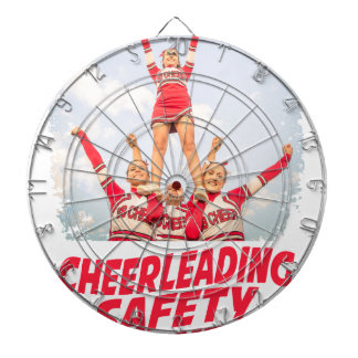 Cheerleading Safety Month - March Dartboard