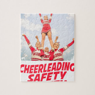 Cheerleading Safety Month - March Jigsaw Puzzle