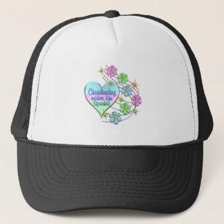 Cheerleading Sparkles Trucker Hat