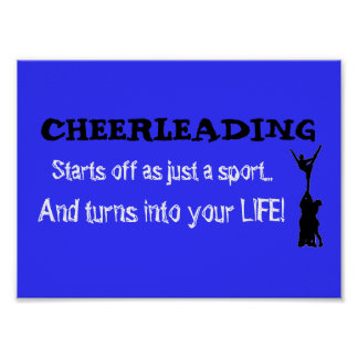 Cheerleading turns into life! poster