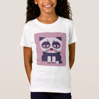 cheerless grumpy looking cat T-Shirt