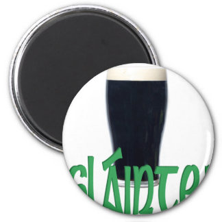 Cheers 6 Cm Round Magnet