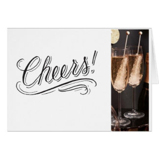 *CHEERS AND CELEBRATE* FOR THE HOLIDAY AND ENJOY CARD