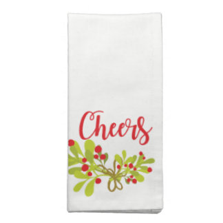Cheers And Ivy Holiday Party Cloth Napkins