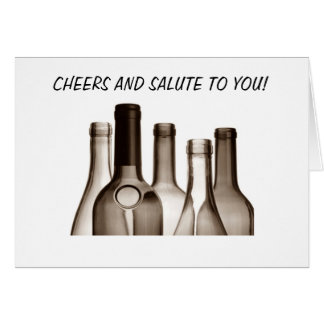 CHEERS AND SALUTE TO YOU / FANTASTIC BIRTHDAY GREETING CARD