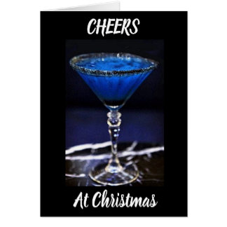 **CHEERS** AT *CHRISTMAS* & THE *NEW YEAR TOO* CARD