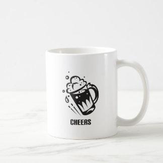 Cheers Basic White Mug