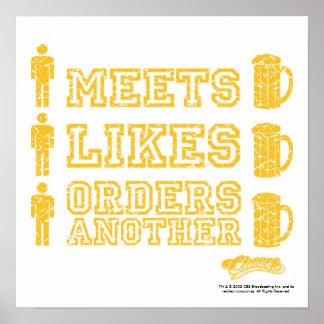 Cheers 'Boy Meets Beer' Poster