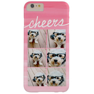Cheers! Create Your Own Instagram Photo Collage Barely There iPhone 6 Plus Case