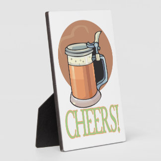 Cheers Display Plaques