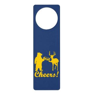 Cheers ! door hanger