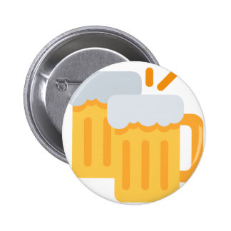 Cheers Emoji 6 Cm Round Badge