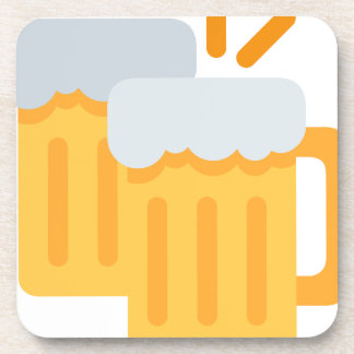 Cheers Emoji Drink Coaster