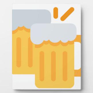 Cheers Emoji Photo Plaques