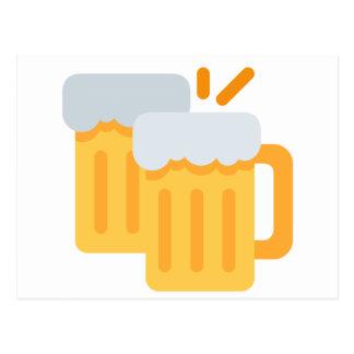 Cheers Emoji Postcard