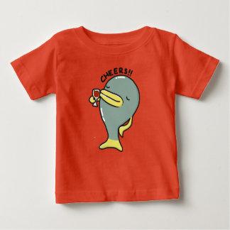 Cheers Fish Baby Fine Jersey T-Shirt