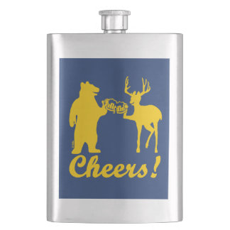 Cheers ! hip flask